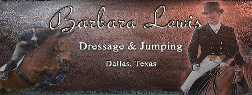 Barbara Lewis, Dallas Dressage and Jumping